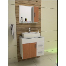 Gabinete / Armário Banheiro Veneza 65