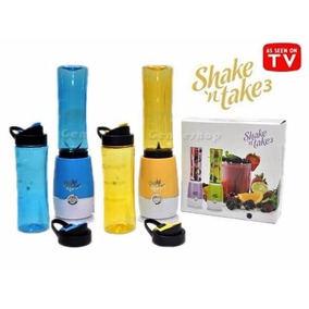 3x Mini Liquidificador Portátil Shake N Take Veja O Vidêo!!