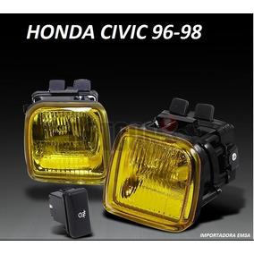Halogenos Honda Civic 96 - 98 , Blacos ,amarillos , Oferta