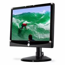 Monitor Multimídia Aoc 22 Lcd Wide Hdmi Usb 2217pwc