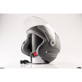 Casco De Moto Semi Integral Evolution Negro Mate Edge 13
