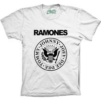 Camiseta Ramones Banda De Rock Masculina Feminina E Infantil