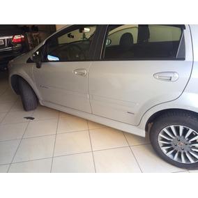 Spoiler Lateral Esportivo Fiat Punto Preto Cetim