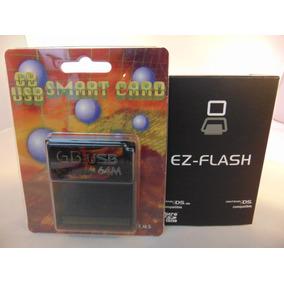 Combo Flashcarts Game Boy: Ez Flash 4 + Gb Usb Smart 64mbit