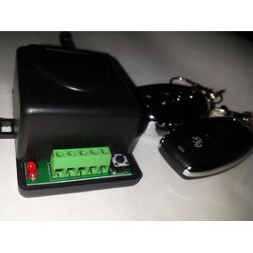 Kit Receptor Control Remoto Porton Incluye Control