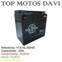Bateria Teckpower Suzuki Gsx 750f Selada Ytx14l-bshd 1226