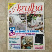 Revista Agulha De Ouro 43 Enxoval Moda Costura Fuxico Bolsa