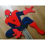 Painel , Aplique Grande Homem Aranha Em Eva 70cm