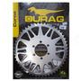 Coroa Moto Dt 180 / Dt 200 51 Dentes Passo 520 Trilha Durag