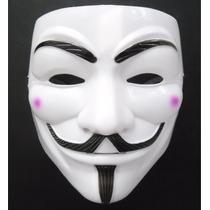 Máscara V De Vingança Anonymous Carnaval Fantasia