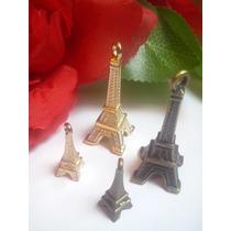 10 Dijes Grandes Corona Llave Torre Eiffel Arbol Manos 6 Cm
