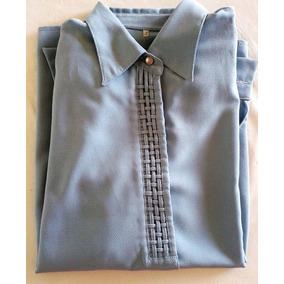 Blusas Camisas Mujer/dama T. 44/46 Seda Fina Crepe Colores