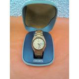 Seiko 5 Reloj Pulsera Vintage Hombre Automatico Enchapado