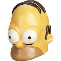 Homer Simpson Adult Vinyl Medio-cap Cara De Halloween