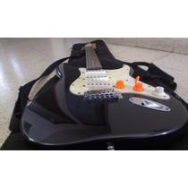 Guitarra Fender Stratocaster Squier Con Funda Remato