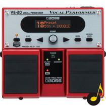 Processador Vocal Boss Ve20 Garantia 1 Ano Pedal De Voz Nfe