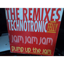 Technotronic Feat.kelly-pump Up The Jam Remixes-made Belgica