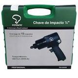 Chave Impacto Pneumática 1/2 67kg Potente Brasil Com Soquete