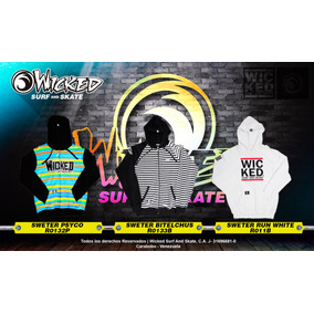 Sweater - Wicked Surf And Skate - Colección 2017
