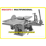 Maquina Multifuncional Para Carpinteria Mq432f5-1