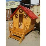 casa casita infantiles de madera para chicos y muecas