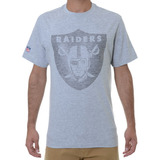 Camiseta Masculina New Era Gel Oakland Raiders