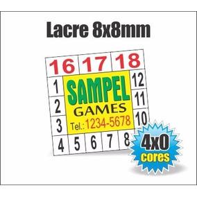 1.000 Lacres De Garantia Para Celular - Quadrado 8 Mm