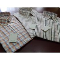 Camisa De Vestir Hombre Marca Rochas En Talla M, Manga Larga