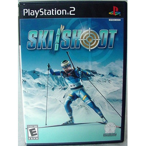 Ski And Shoot Jogo Game Original Americano Completo Leilao!