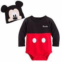 Disfraz De Mickey Mouse Para Bebe Tallas 3-6 M Y 6-9 M