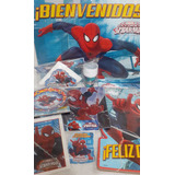 Spiderman Cotillón Completo Cumple Para 20 Chicos