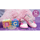 Zapatos Elegantes Para Bebé Rosados No Tuerce Babycute