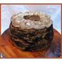 Torta Decorada Mousse De Chocolate Y Crema Grande Apróx 3,5