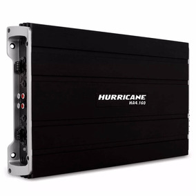 Modulo Hurricane Amplificador Ha4.160 Bom 4 Canais Ab Hd