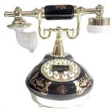 Telefone Preto Vintage Antigo Retro Decoração Frete Gratis