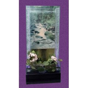 Cascada Artificial En Cristal