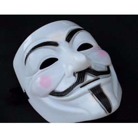 Máscara Filme V De Vingança - Guy Fawkes - Anonymous