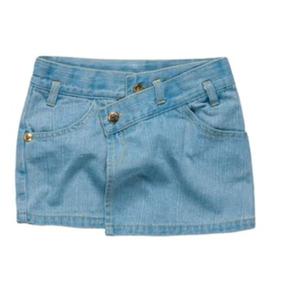 Mini Saia Jeans Lilica Ripilica - Tamanho 12