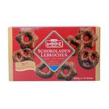 4 Pão De Mel Alemão Schokoladen Lebkuchen Lambertz 500g