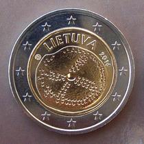 Lituania - Moneda 2 Euros 2016 - Cultura Báltica ¡ S/circ.!