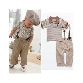 Conjunto De 3 Piezas Tirantes, Pantalon Y Camiseta Divinos