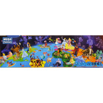 Rompecabezas Mundo De Disney, Panorama, Fantasía, Niños Hm4