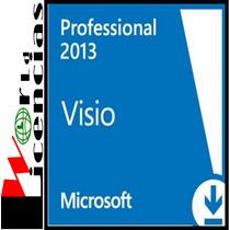 Visio Professional 2013 Licencia Original Para 1 Pc