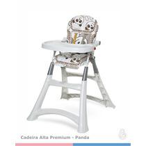 Cadeirão De Alimentação Para Bebê Premium Galzerano Panda