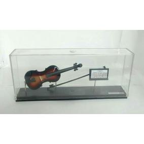 Miniatura De Violino Com Estante E Partitura
