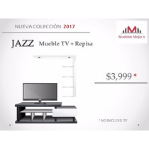 Mueble Para Tv + Repisa Flotante