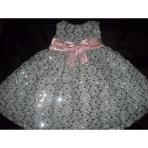 Bello Vestido Gala Niña