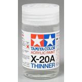 Thinner X-20a De Tamiya 3/4 Mas Acrylic X10 Gunmetal 3/4