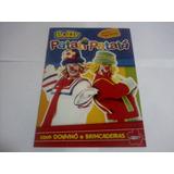 Álbum Buzzy Patati Patatá + 10 Figurinhas + Dominó