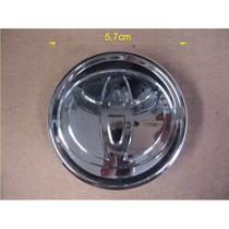 Calota Central P/ Roda De Liga Leve Toyota Corolla 2002/2008